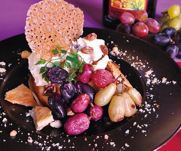 【11月限定】焼き葡萄と ラムレーズンバタークリームの モッフル
