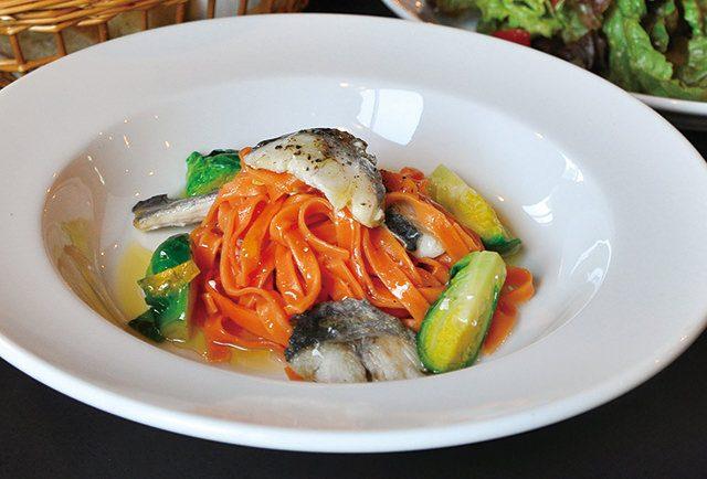 海鮮と春野菜の 日替わりパスタランチ