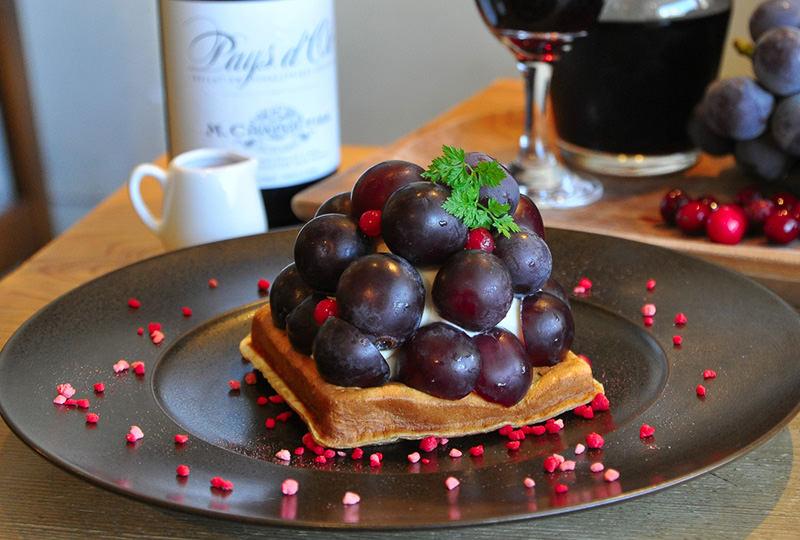 完熟葡萄のモッフル