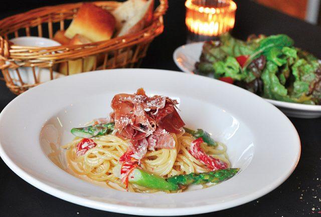 お肉と季節野菜の 日替わりパスタランチ