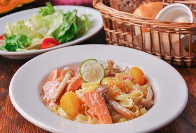 海鮮と季節野菜の 日替わりパスタランチ
