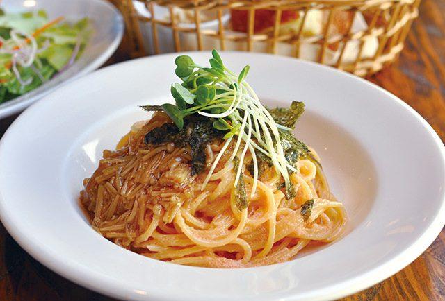 海鮮と季節野菜の日替わりパスタランチ